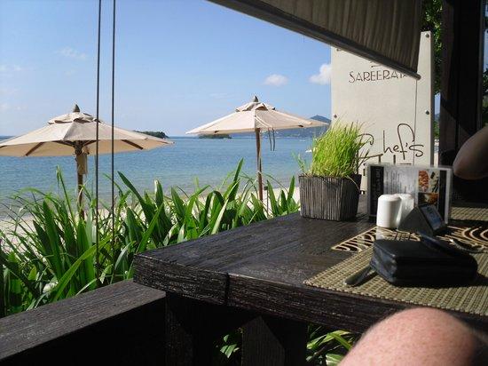 Sareeraya Villas & Suites: View whilst having breakfast