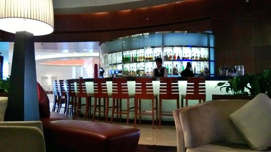 Beijing Marriott Hotel Northeast: lobby bar
