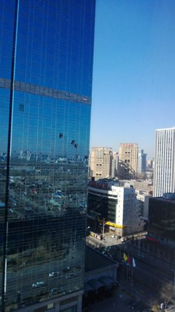 Beijing Marriott Hotel Northeast: view from the Marriott