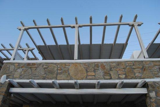 Arte & Mare Elia Mykonos Suites: notre terrasse