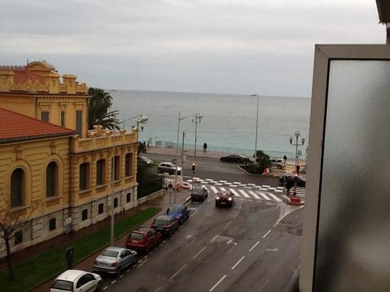 Hotel Magnan: view from hotel balcony.