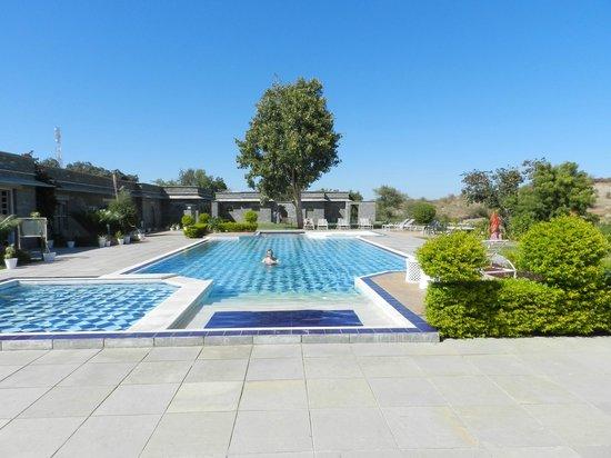 King's Abode: piscine