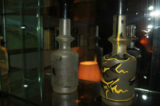 Ristorante Emilio : bottiglie di grappa