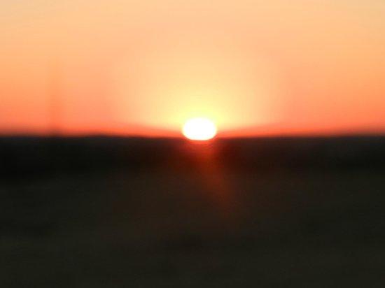 Thar Oasis Resort & Camp : lever de soleil du site
