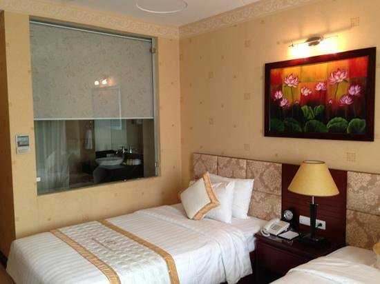 Northern Hotel Saigon : 広すぎず、丁度良いですね。