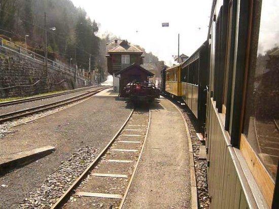 Railway Museum Blonay-Chamby : Manoeuvre au dépôt de Chaulin