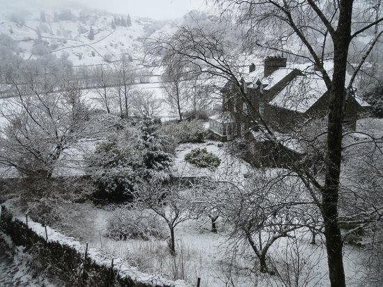 The Lancrigg: View from bedroom