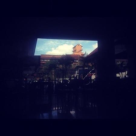 Baumanburi Hotel: внутренний двор