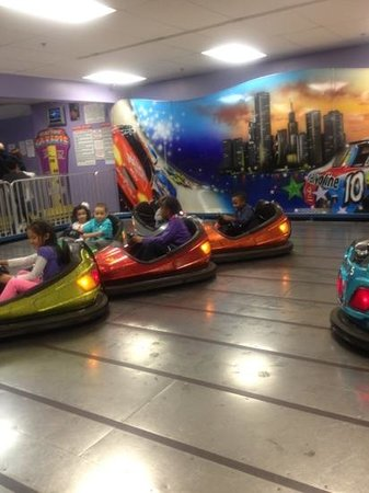 The Funplex: children having fun