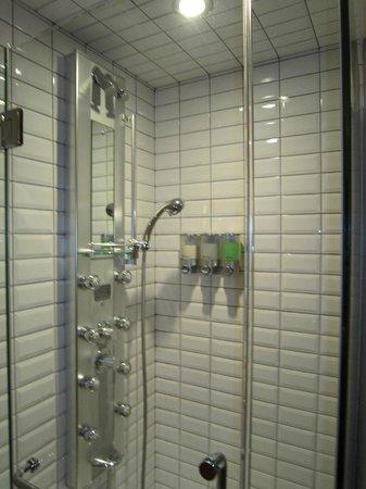 Auberge Place D'Armes : Shower (inside room)