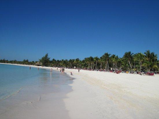 Barcelo Maya Beach : La bella spiaggia