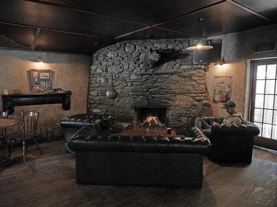 Cardrona Hotel: Il grande focolare