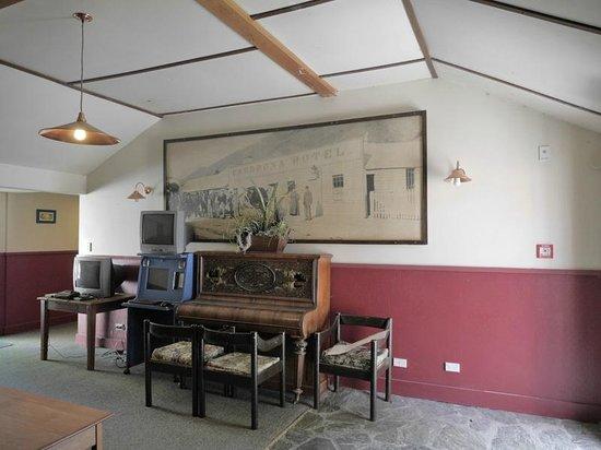 Cardrona Hotel: un pianoforte