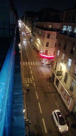 Hotel Exe Paris Centre: Vista dal balcone