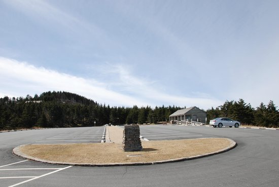 Mount Mitchell State Park: We were the only ones.