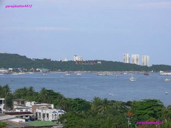 Imperial Pattaya Hotel: ホテルからの眺めです。最高でした。