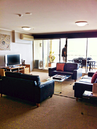 Rydges Port Macquarie: The living area
