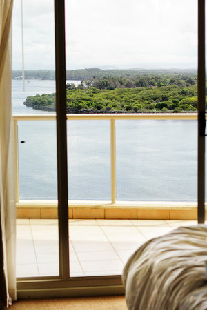Rydges Port Macquarie: The view from the bedroom