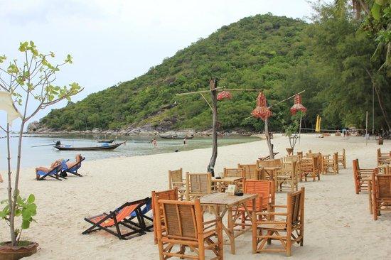 Havana Beach Resort : Strand vor dem Hotel