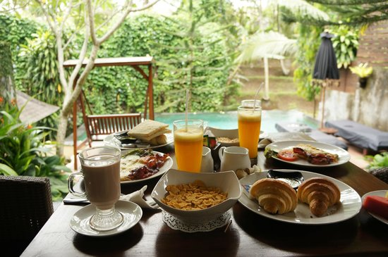 KajaNe Mua Private Villa & Mansion: breakfast