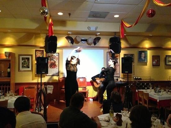 La Taberna DE San Roman: flamenco dancers