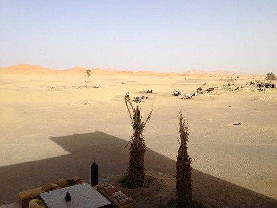 Hotel Kasbah Kanz Erremal: Il deserto