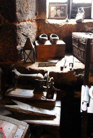 Palloza Museo Casa do Sesto: El interior y sus detalles
