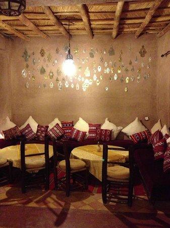 Hotel Kasbah Kanz Erremal: La sala da pranzo
