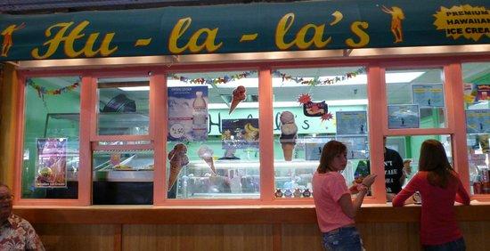 Hu La la Ice Cream: 店の外観
