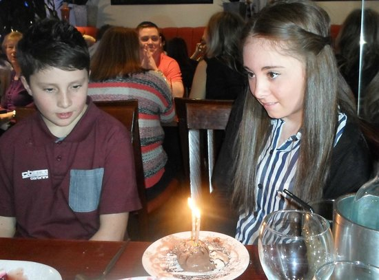 Zio: singing happy birthday