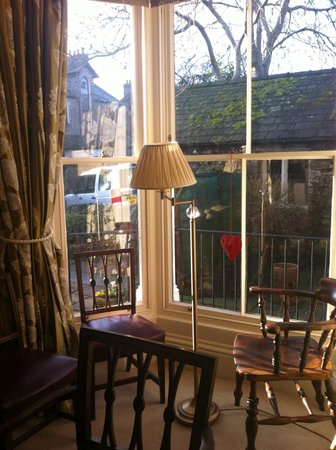 Airethwaite House Bed and Breakfast: A beautiful sunny morning - from the corner of the dinning room -1