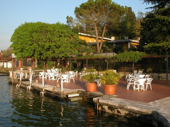 Hotel Garden Zorzi: Terrace