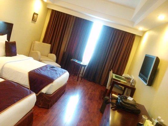Gokulam Park Sabari - OMR : My room while i stayed.
