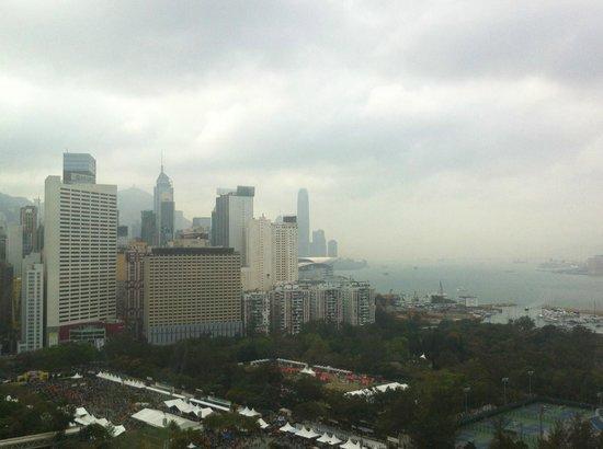 Metropark Hotel Causeway Bay Hong Kong: View of the city