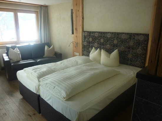 """Hotel Tirol: Bed in the """"Cozy"""" Room"""