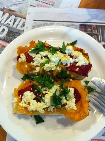 Cocolat: pumpkin bruschetta