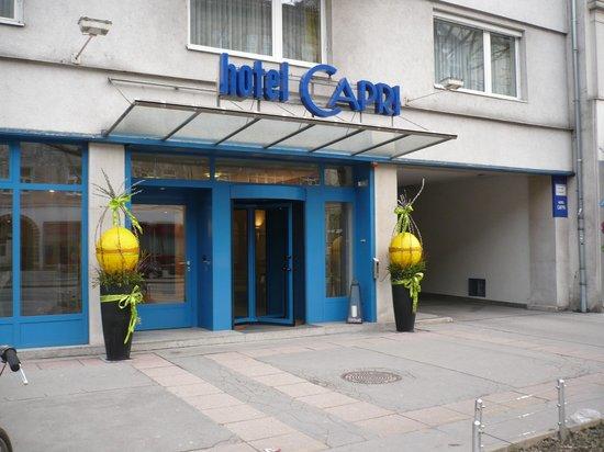 Das Capri: Ingang Capri aan de Praterstraße