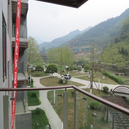 Nanchuan, China: View from the balcony