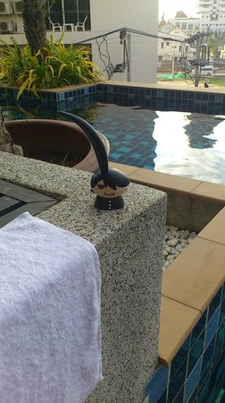 Andakira Hotel Patong: Pool Access Room