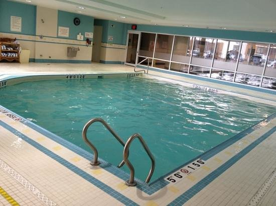 Hampton Inn by Hilton Toronto Airport Corporate Centre: pool
