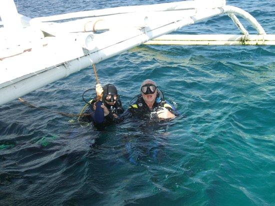 Camiguin Action Geckos Dive & Adventure Resort : Ready to dive