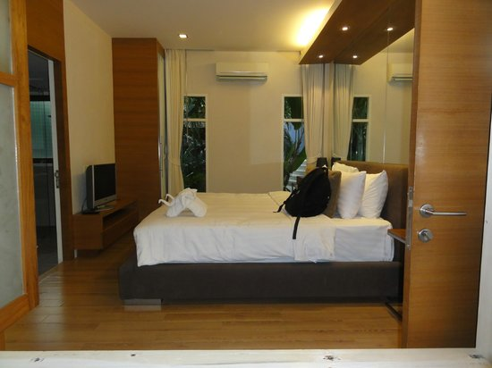 Punnpreeda Pool Villa Beachfront: Bedroom