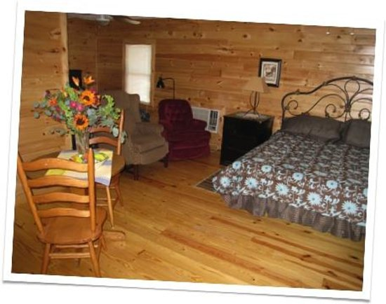 Blue Ridge Lodge & RV Park: Interior of Room 2