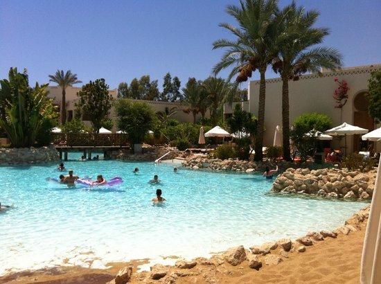 Der tolle Strand am Pool - Picture of Ghazala Gardens ...