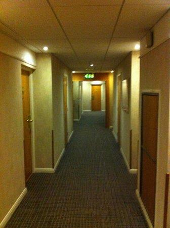 Novotel Bristol Centre: long corridoors