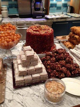 Grand Hyatt Istanbul: Sweets