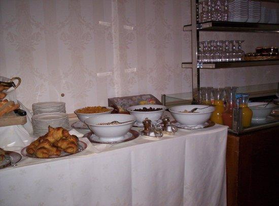 Hostellerie de la Poste : Buffet du petit-déjeuner