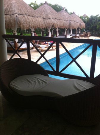 Grand Riviera Princess All Suites Resort & Spa: Private pool area