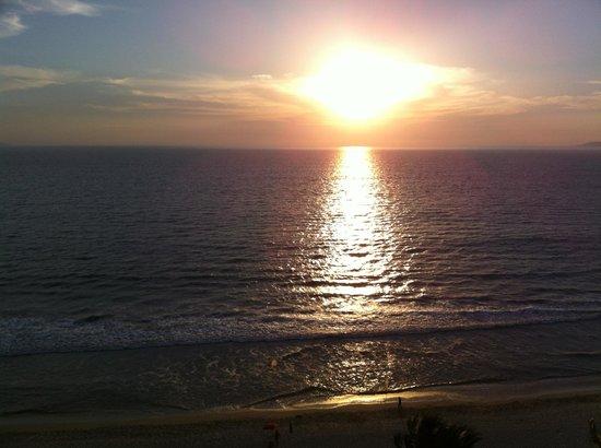 Nuevo Vallarta Beach: Le coucher de soleil est magnifique à tous les soirs