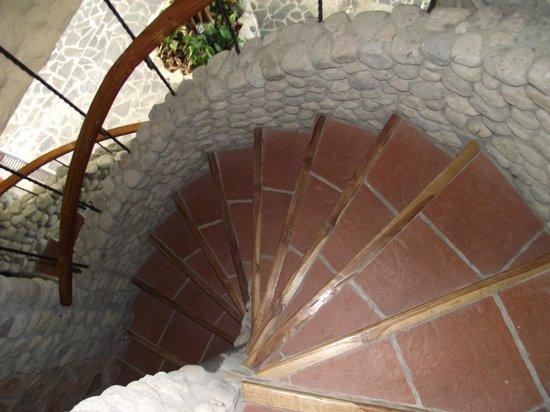 Casa Di Pietra: Steps leaving our room